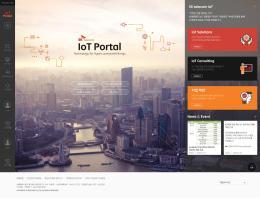 SK telecom IoT Portal